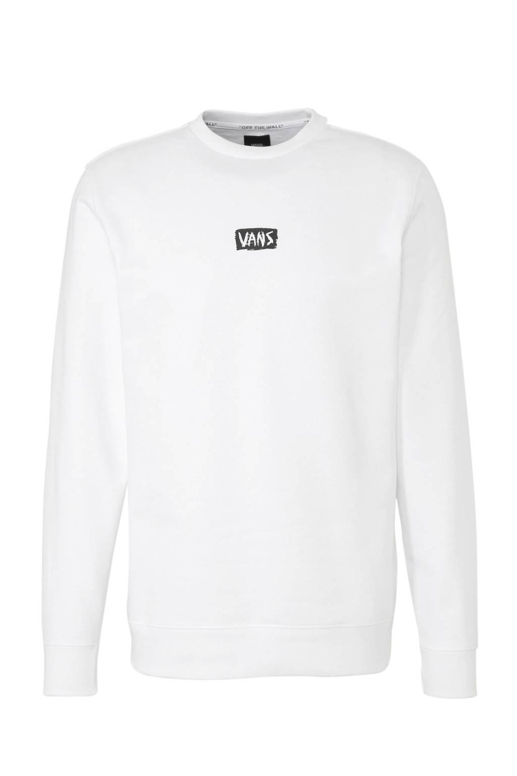 VANS   sweater wit, Wit