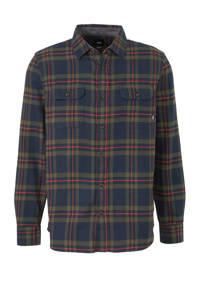 VANS Westminster overhemd donkerblauw/groen/rood, Donkerblauw/Groen/Rood