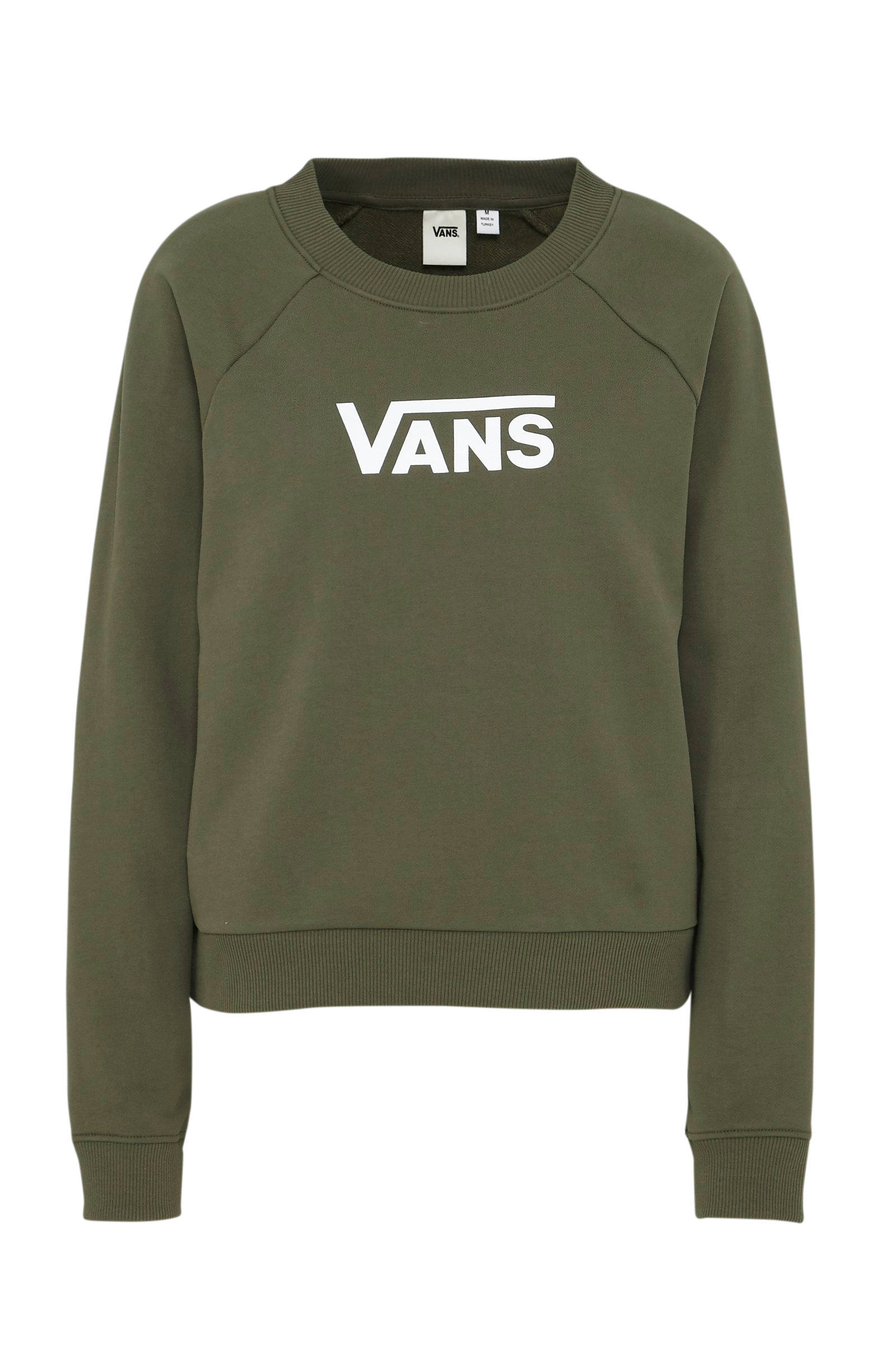 VANS sweater groen | wehkamp