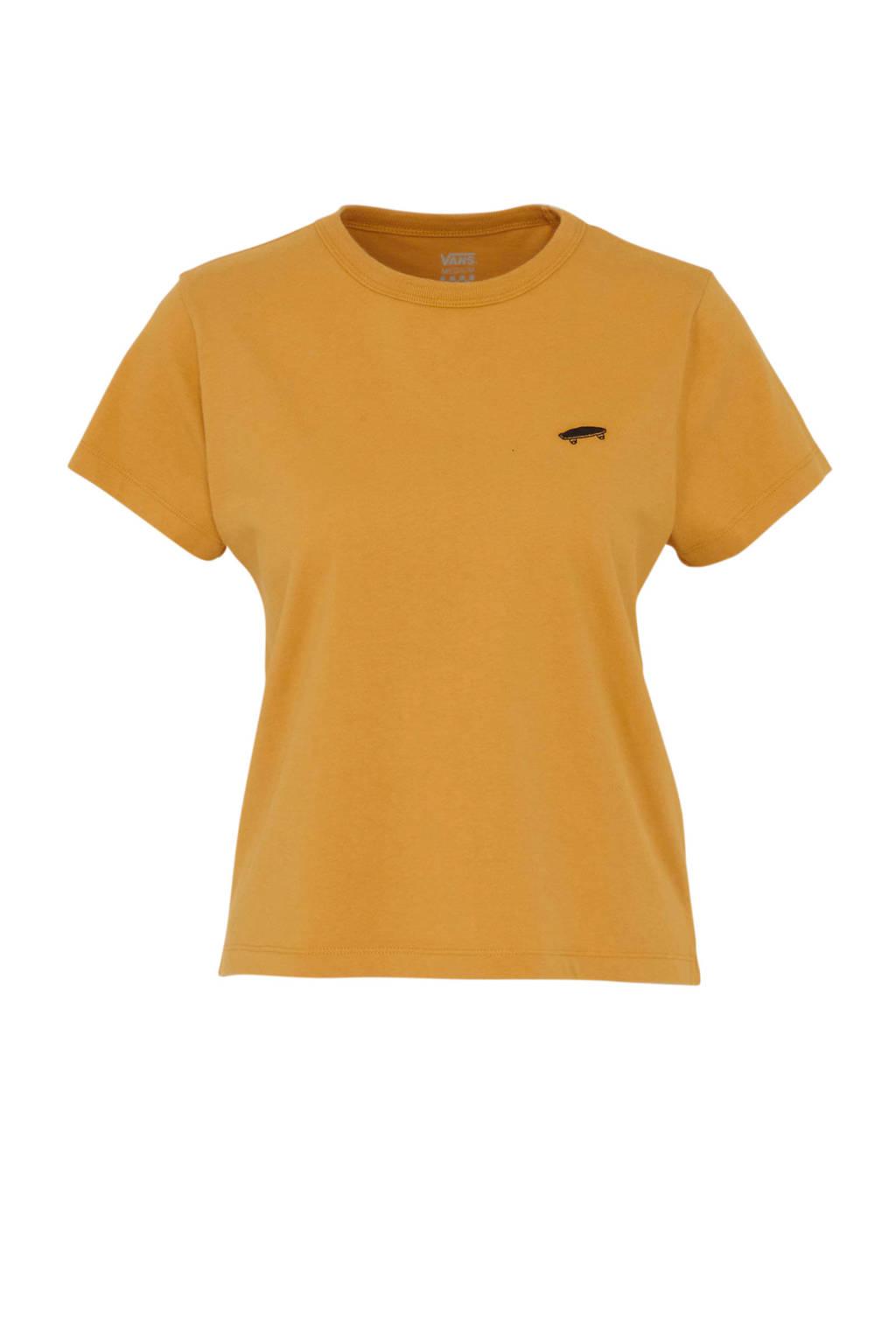 VANS T-shirt okergeel, Okergeel