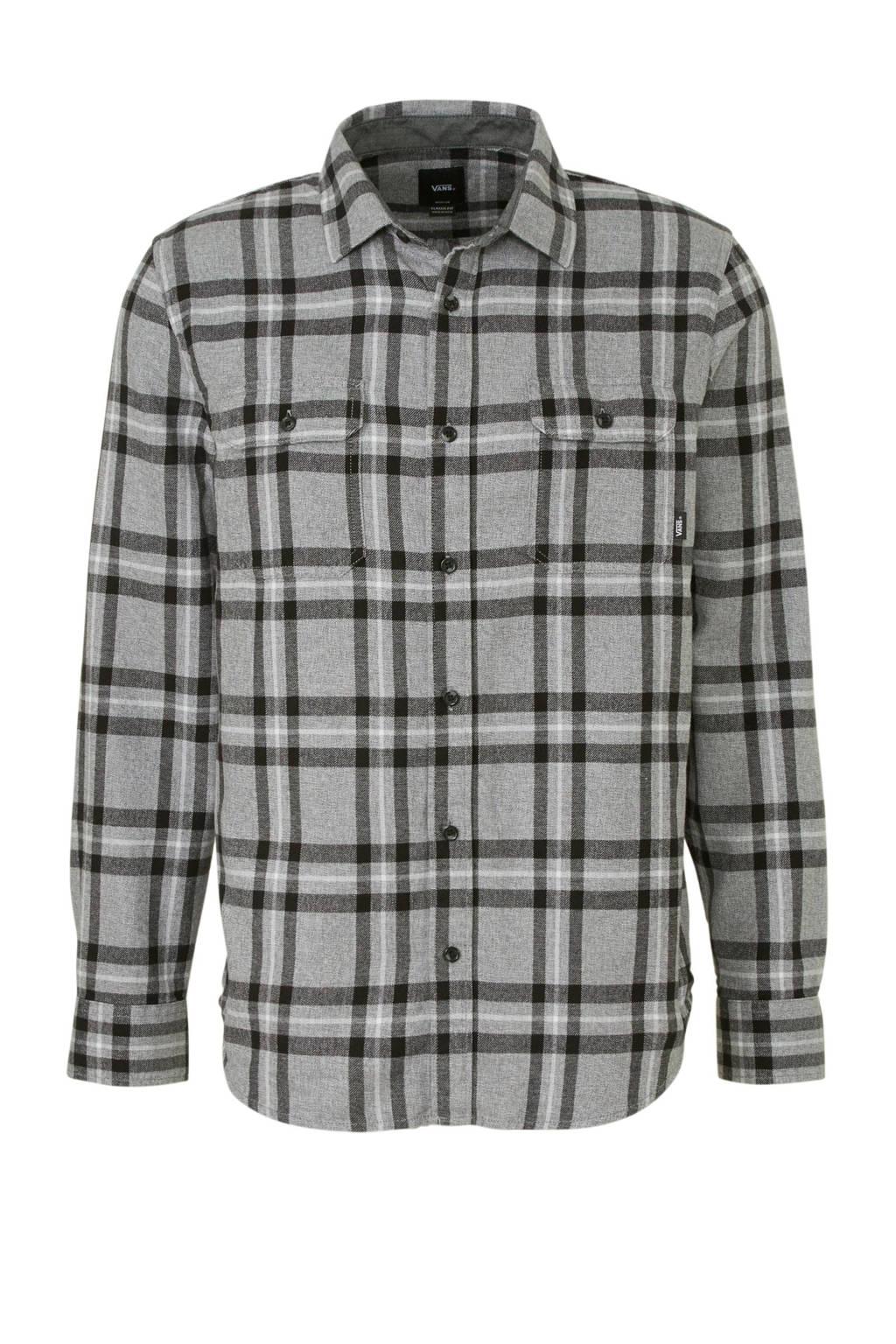 VANS Westminster overhemd grijs/zwart, Grijs/zwart