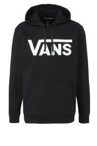 VANS   hoodie, Zwart/wit