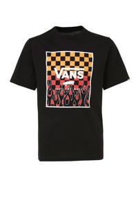 VANS Print Box T-shirt zwart, Zwart