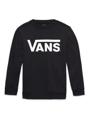 sweater logo zwart