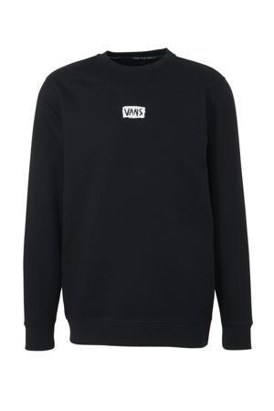 sweater Scratched zwart