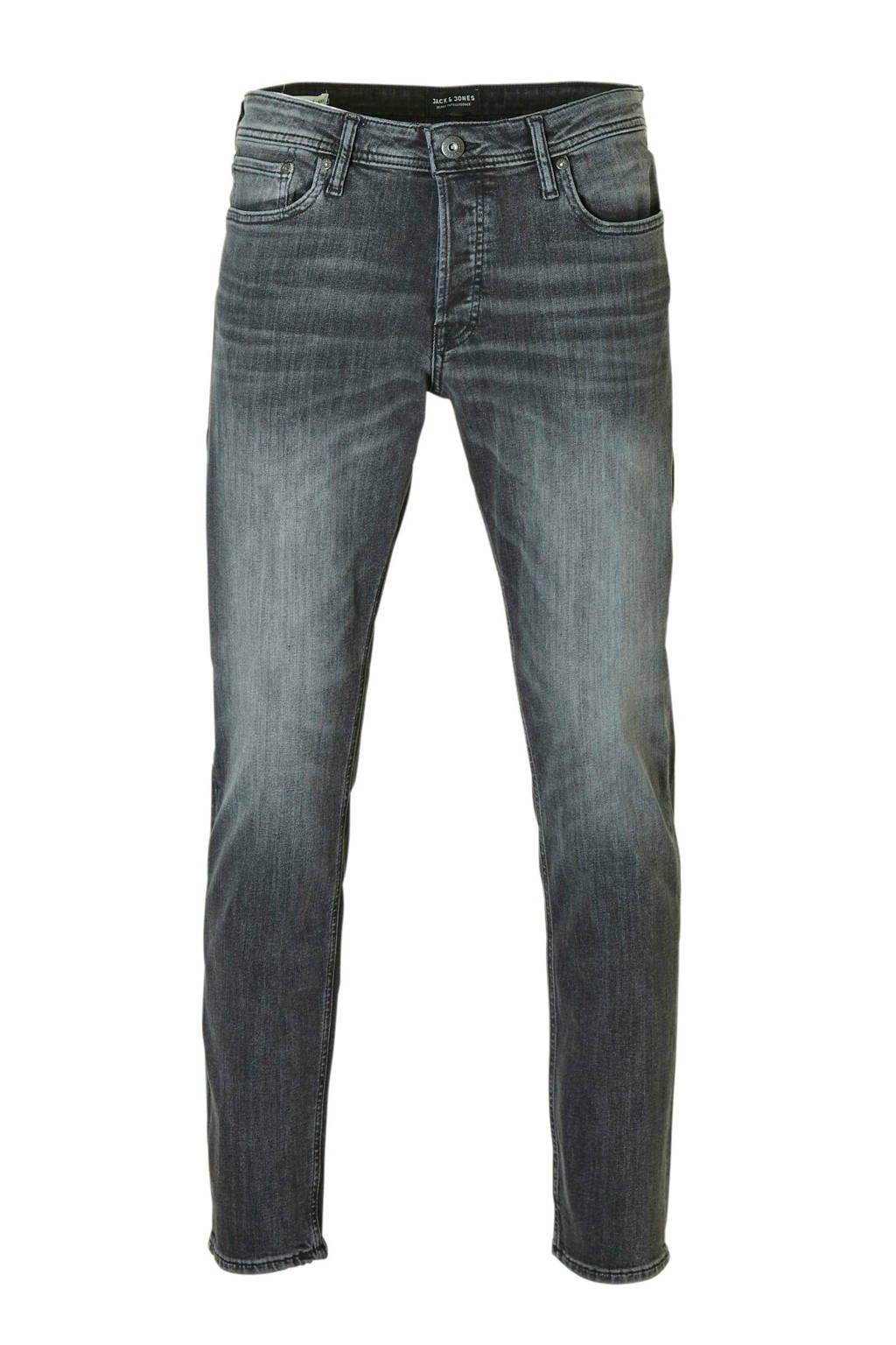 JACK & JONES JEANS INTELLIGENCE regular fit jeans Mike black denim, Black denim