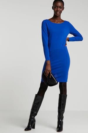 jersey jurk Nadia bleu  konings blauw
