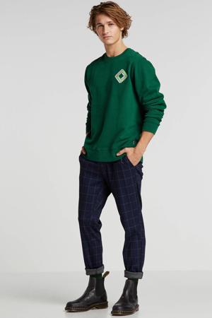 sweater met printopdruk groen