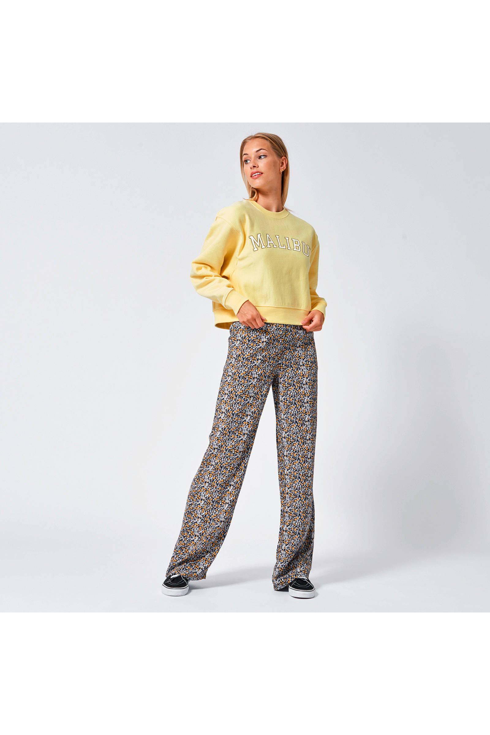 America Today sweater Simone met tekst gebroken wit   wehkamp