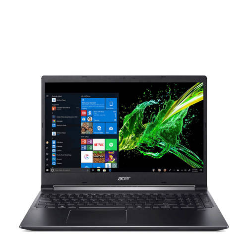 Acer Aspire 5 A715-74G-77AW Zwart Notebook 39,6 cm (15.6) 1920 x 1080 Pixels 9th gen Intel® Core""