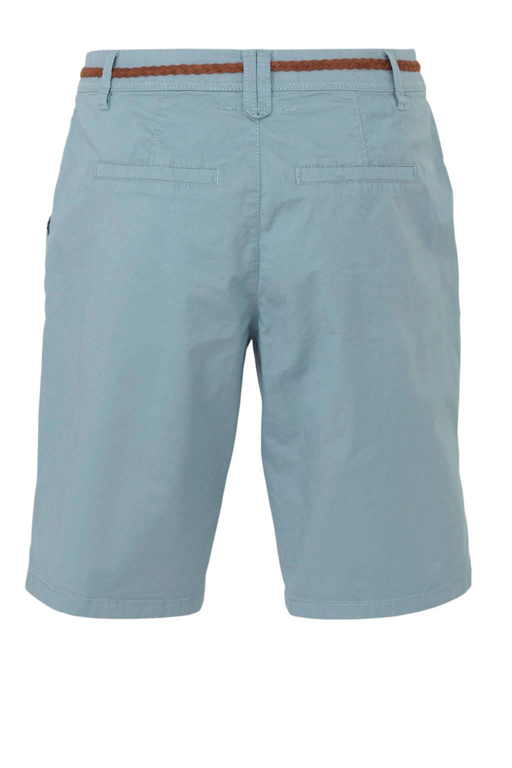 C&A Yessica regular fit bermuda blauw, Blauw
