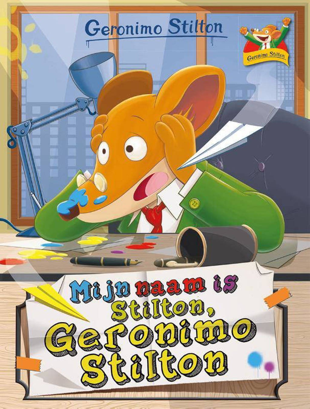Geronimo Stilton: Mijn naam is Stilton, Geronimo Stilton - Geronimo Stilton