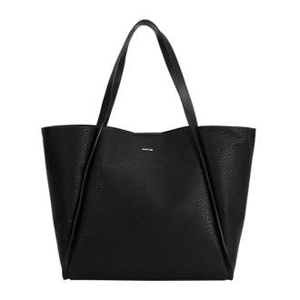 shopper bag in bag zwart