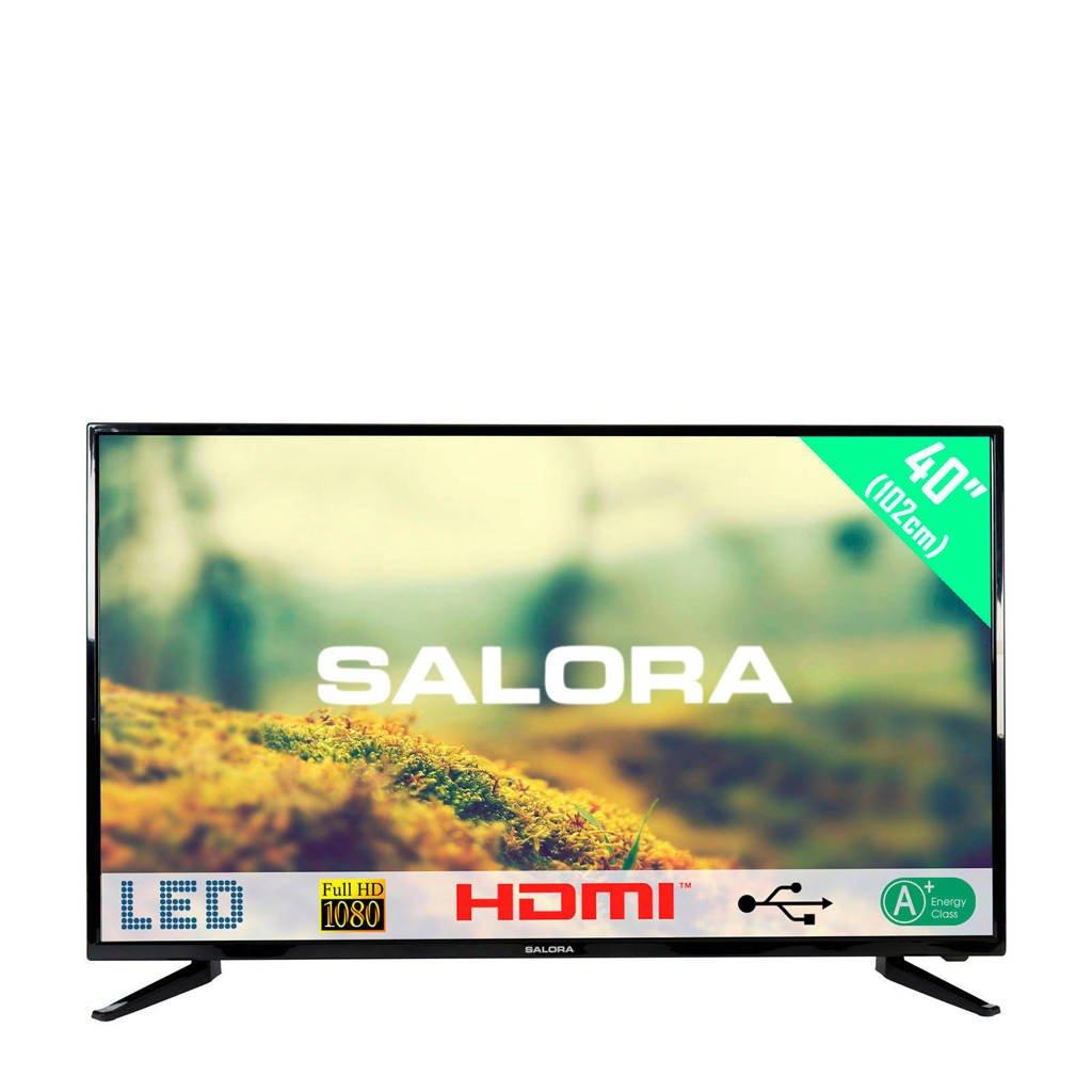 Salora  40LED1500Full HD LED tv, Zwart