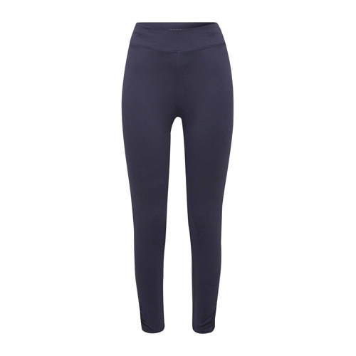 ESPRIT Women Sports sportlegging donkerblauw