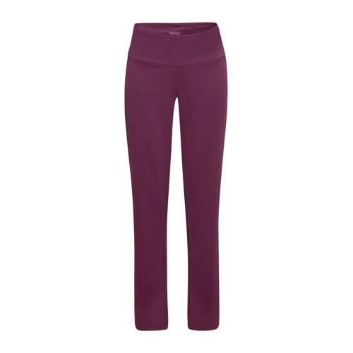 ESPRIT Women Sports sportbroek paars