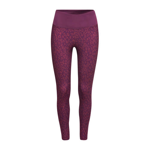 ESPRIT Women Sports sportlegging paars