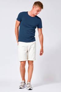 America Today T-shirt Took donkerblauw, Donkerblauw