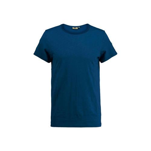 America Today T-shirt Took donkerblauw