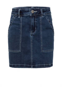 WE Fashion Blue Ridge rok dark denim, Dark denim