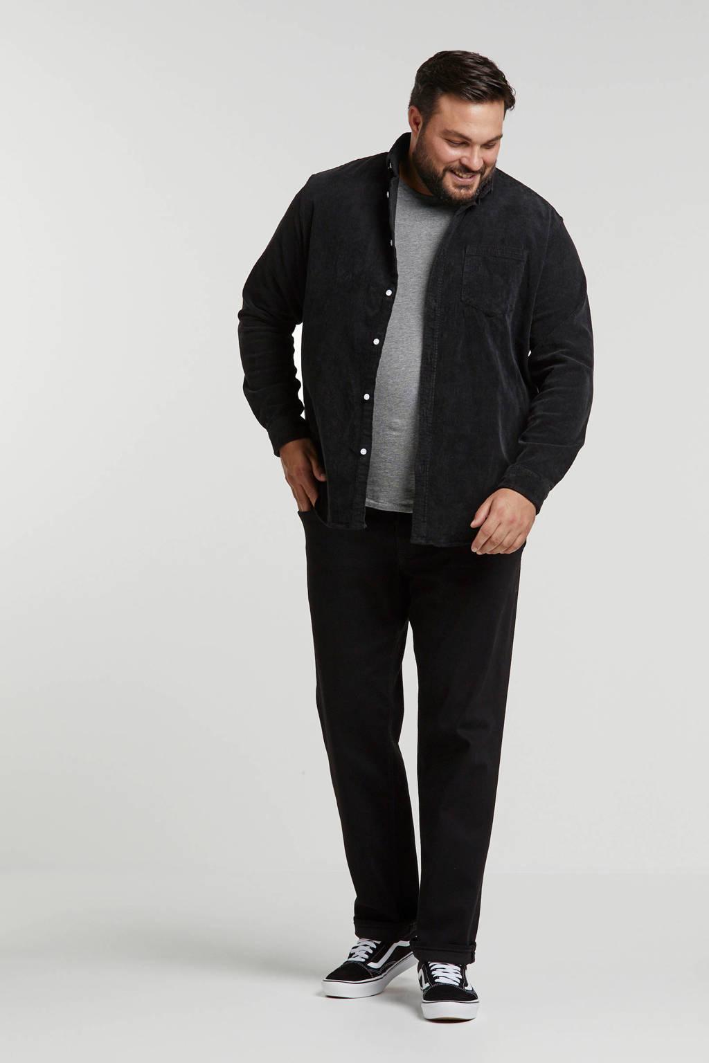 URBN SAINT overhemd, Zwart