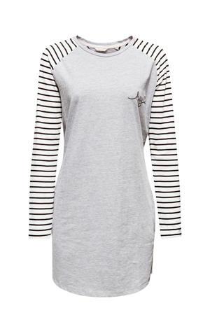 Women Bodywear nachthemd grijs/wit