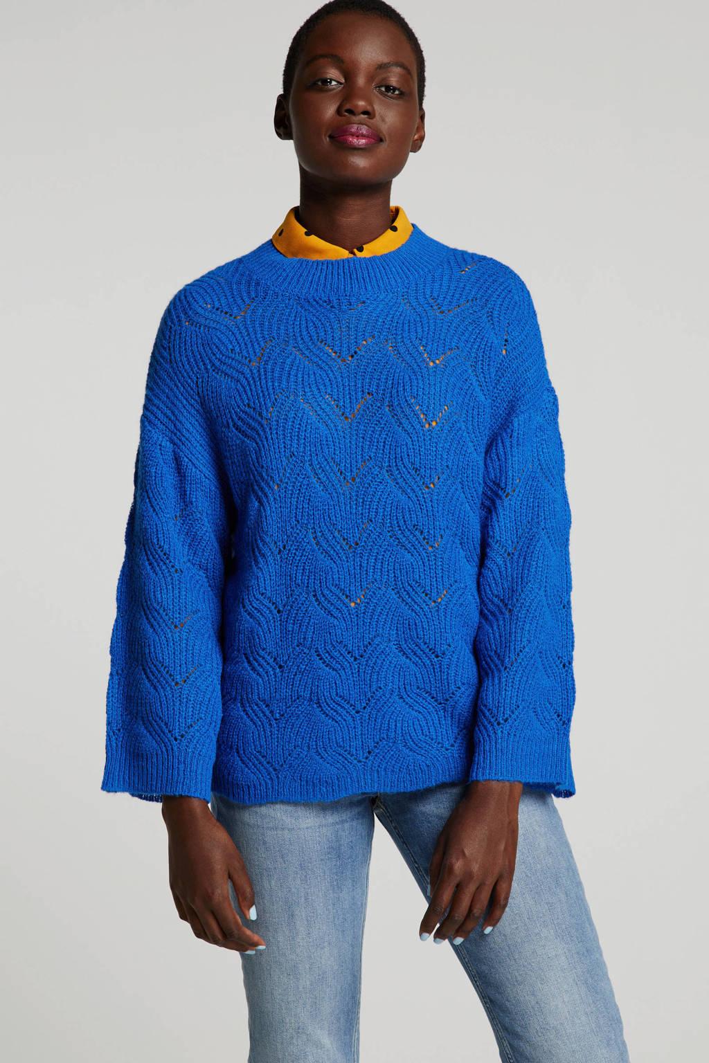Y.A.S trui blauw, Blauw