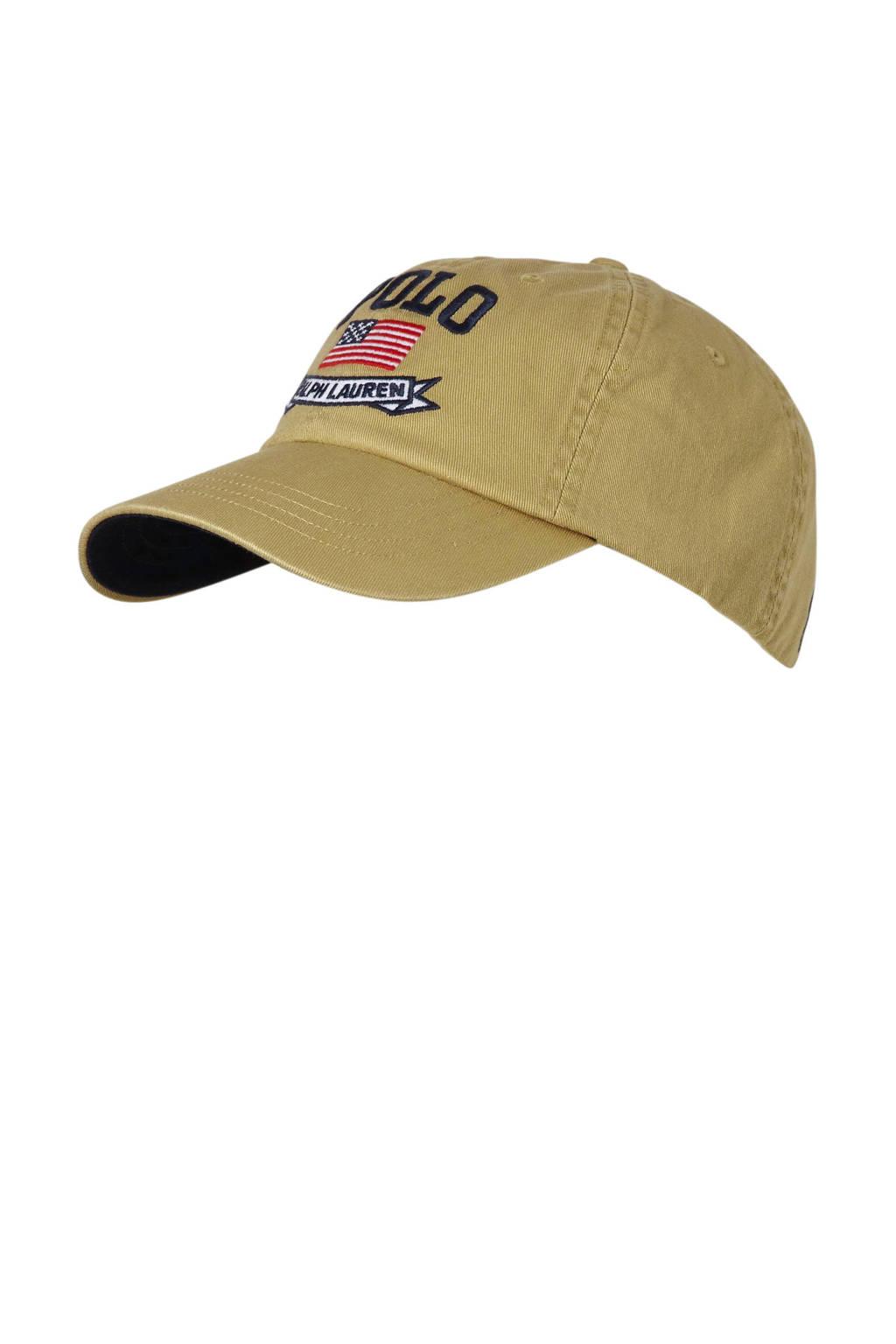 POLO Ralph Lauren pet CLS SPRT beige, beige/marine/wit