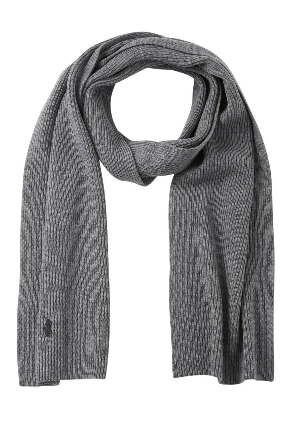 POLO Ralph Lauren sjaal grijs, Grijs