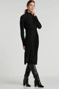 Minimum jurk Mialina zwart, Zwart