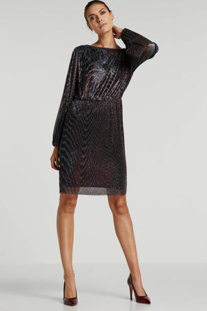 party jurk metallic