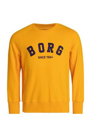 sportsweater geel