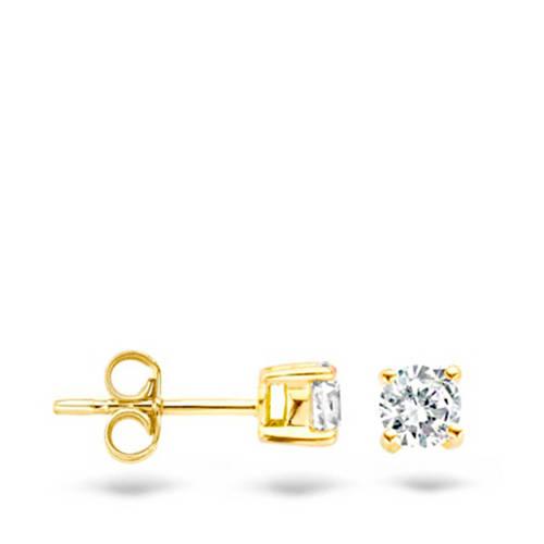 Blush gouden oorbellen 7128YZI