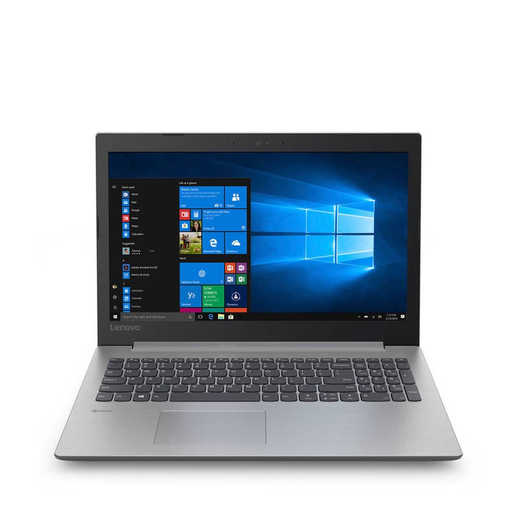 Lenovo  15 inch Full HD IdeaPad 330-15ASTA6-9225 AMD A 4GB 128GB laptop, Grijs