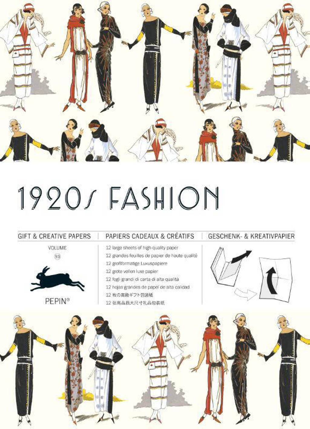Gift & creative papers: 1920s Fashion Volume 93 - Pepin van Roojen