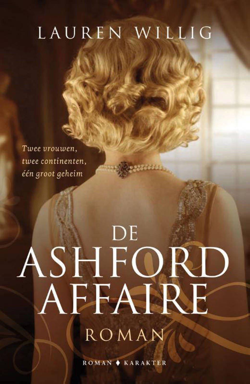 De Ashford-affaire - Lauren Willig