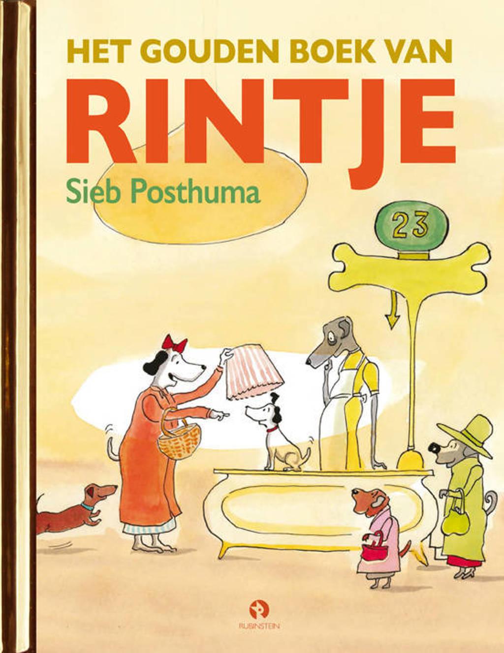 Gouden Voorleesboeken: Het Gouden Boek van Rintje - Sieb Posthuma