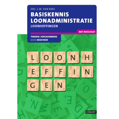 BKL Loonheffingen: 2019-2020: Theorie--opgavenboek. L.M. van Rees, Paperback