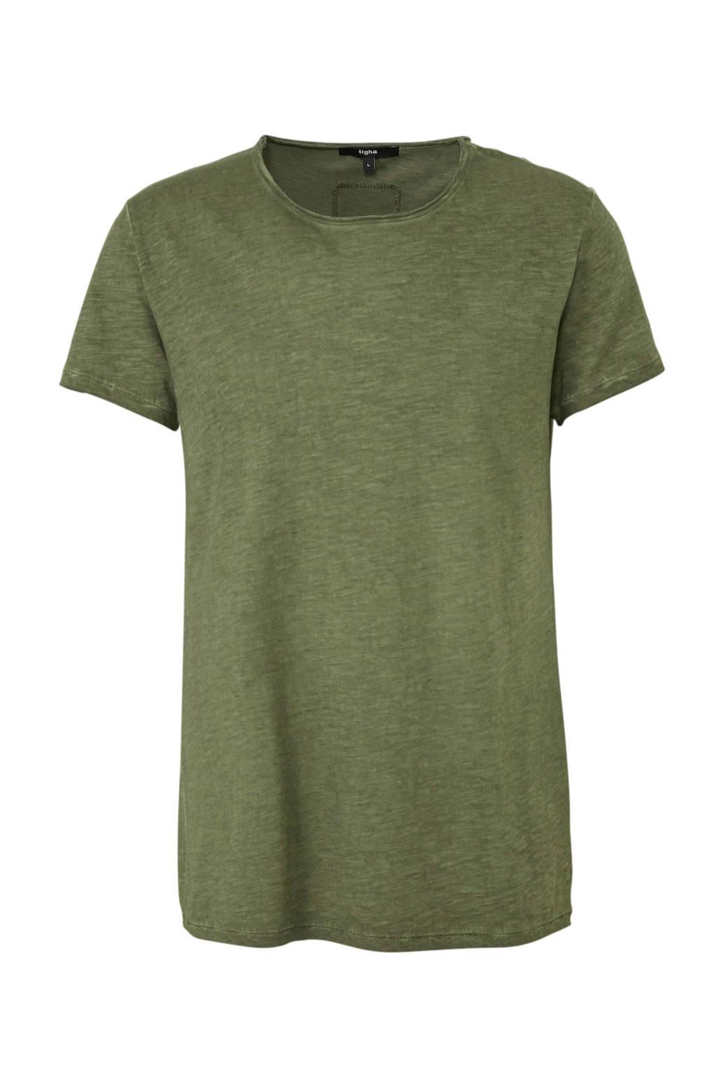 Tigha T-shirt groen, Groen