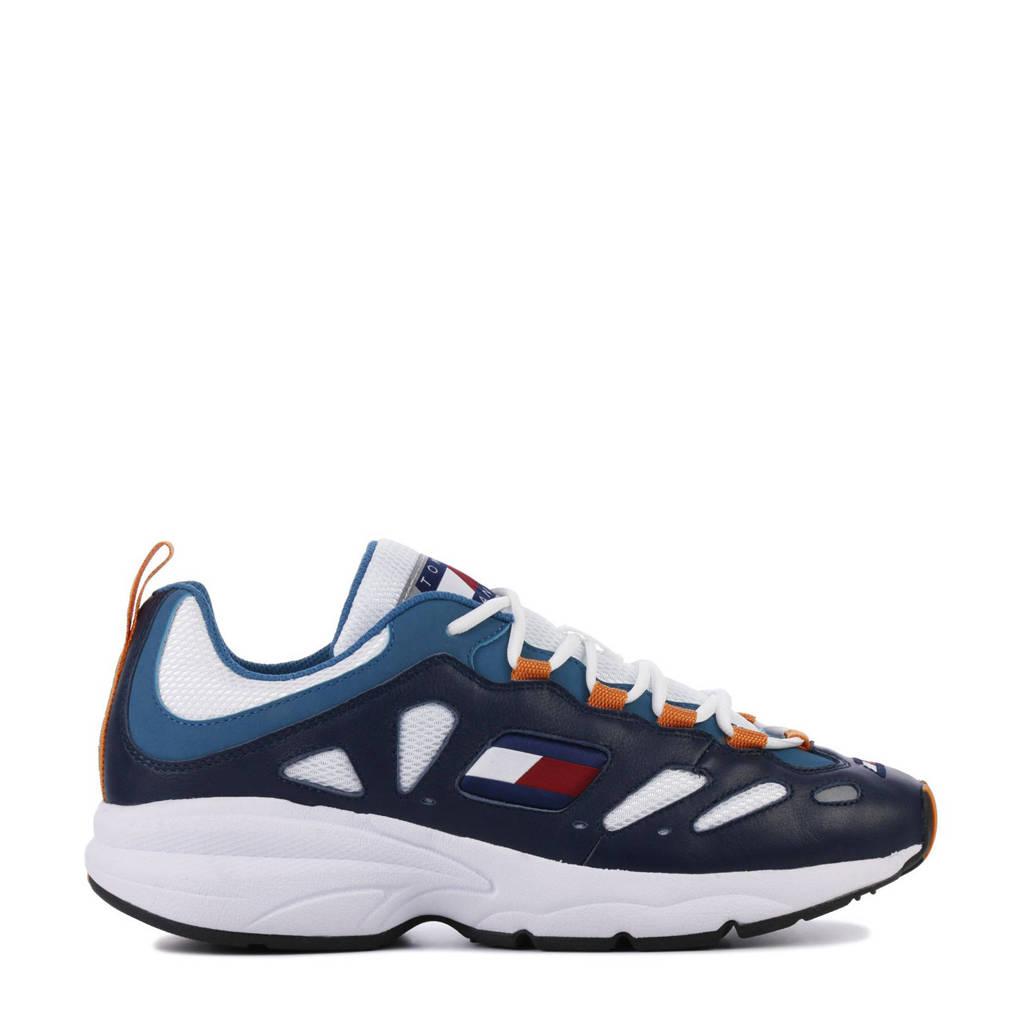 Tommy Hilfiger   TJ Retro sneakers blauw, Blauw/wit