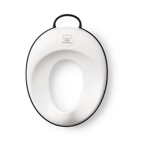 BabyBjorn Toilet Trainer Hagelwit-Zwart