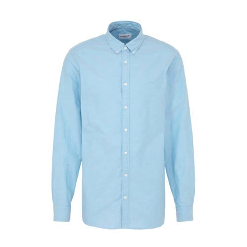 McGregor regular fit overhemd lichtblauw