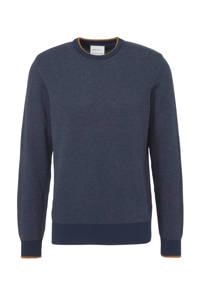 ARMEDANGELS trui van biologisch katoen donkerblauw, Donkerblauw
