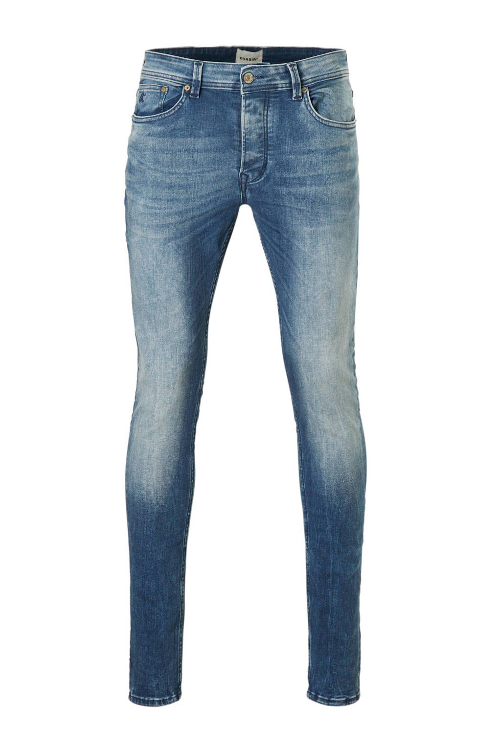 Chasin' slim fit jeans Ego, Blauw