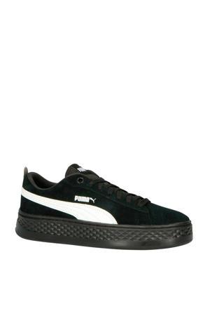 Smash Platform sneakers zwart/wit