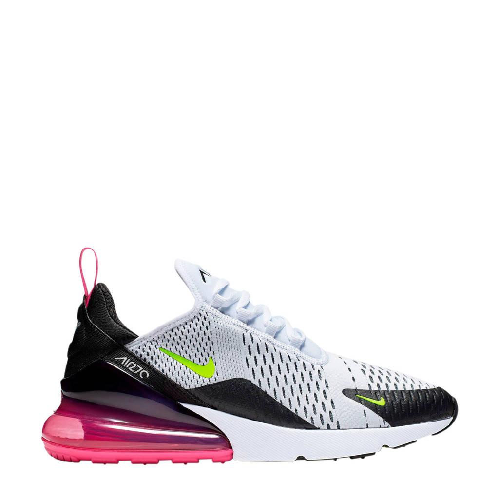 Nike Air Max 270 sneakers wit/wart, Wit/zwart