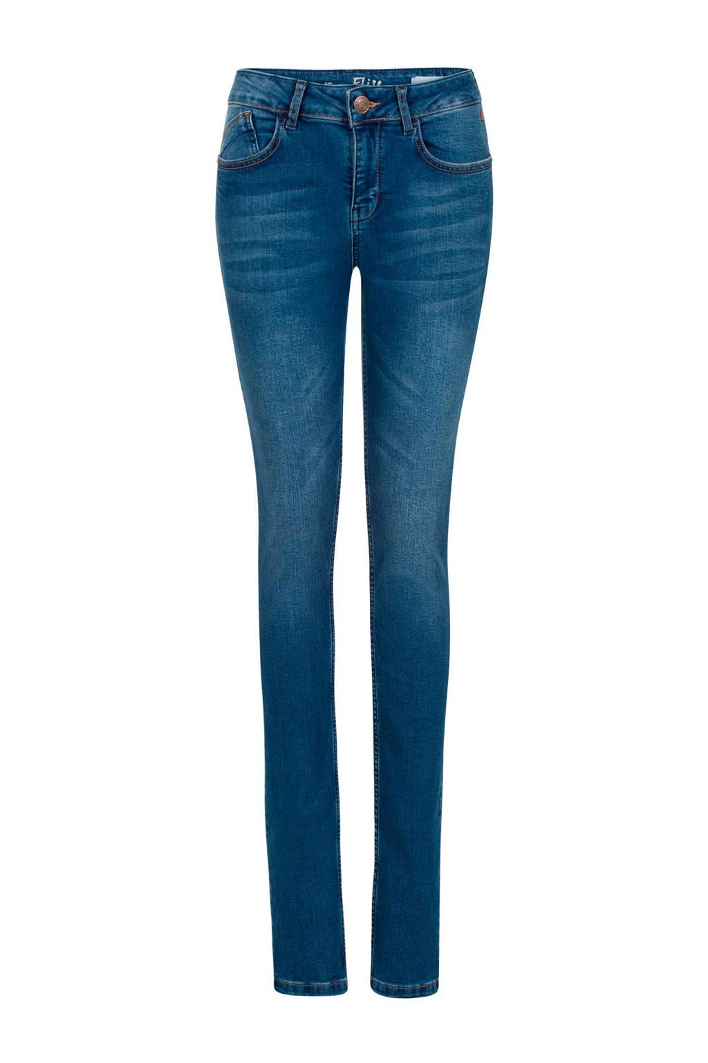 Miss Etam Regulier skinny jeans Elise 36 inch stonewashed, Lang