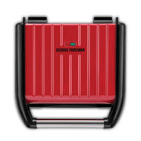 George Foreman 25040-56 FAMILY contactgrill, Rood
