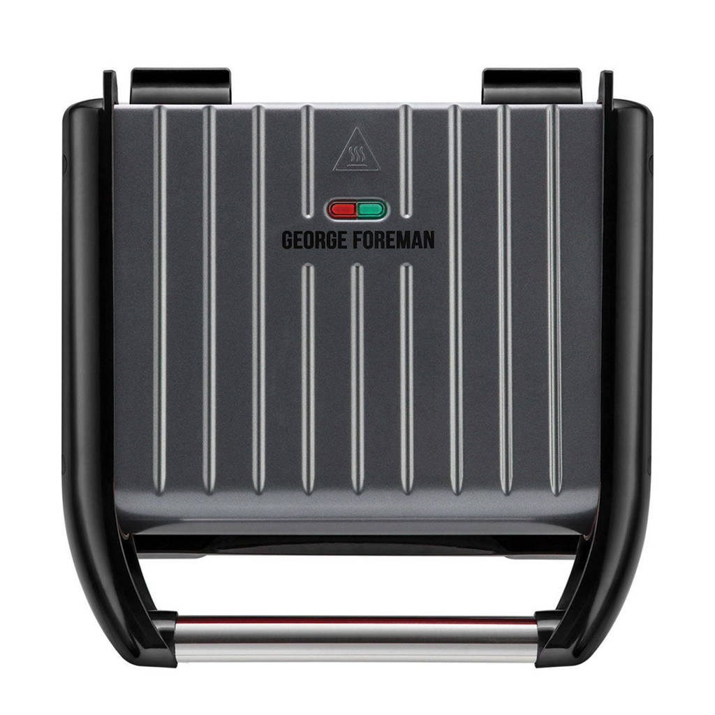 George Foreman 25041-56 FAMILY contactgrill, Grijs