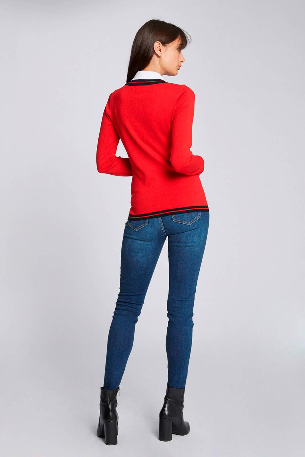 Morgan trui rood, Rood